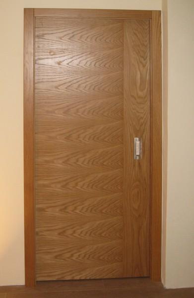 dveře interiérové -  dub přírodní  -  dýha