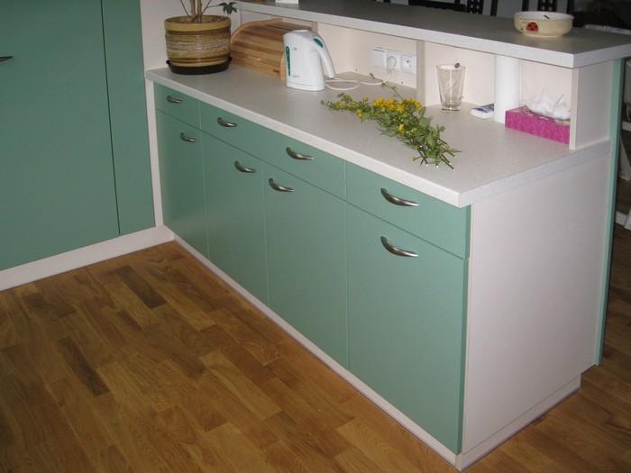 kuchyň -  zelená - lamino