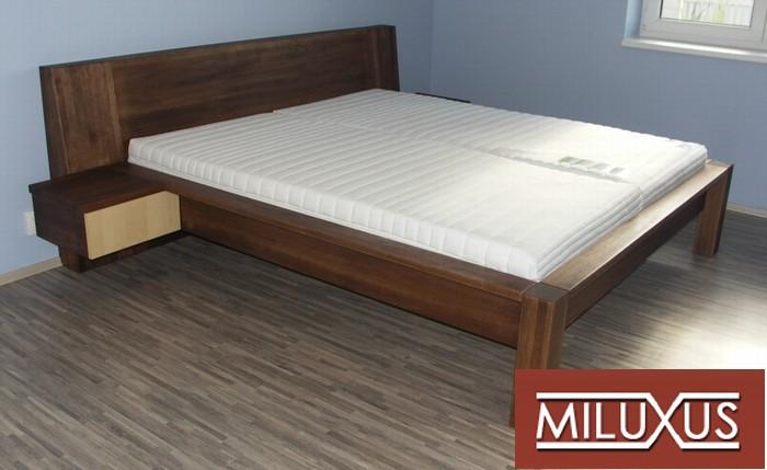 postel dub - kombinace s javorem - masiv
