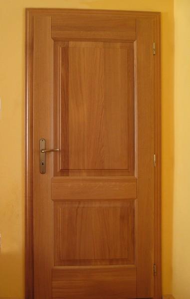 dveře interiérové - dub přírodní -  masiv